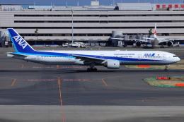 とらとらさんが、羽田空港で撮影した全日空 777-381の航空フォト(飛行機 写真・画像)