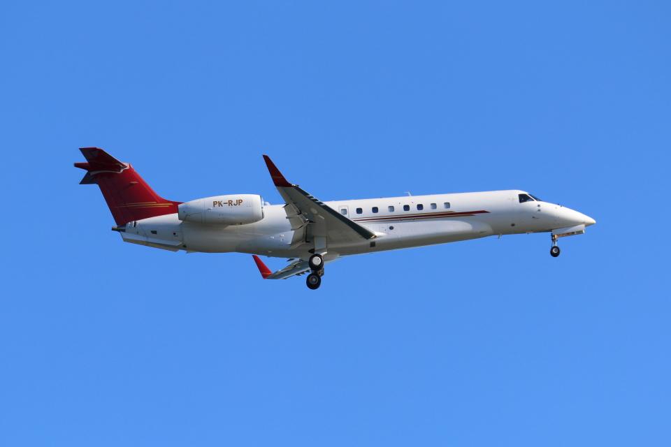 やつはしさんのプレミエア Embraer ERJ-135 (PK-RJP) 航空フォト