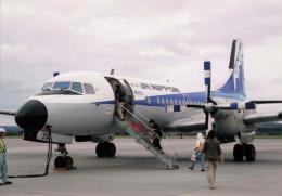 North1973さんが、女満別空港で撮影したエアーニッポン YS-11A-500の航空フォト(飛行機 写真・画像)
