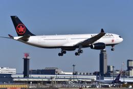 パンダさんが、成田国際空港で撮影したエア・カナダ A330-343Xの航空フォト(飛行機 写真・画像)