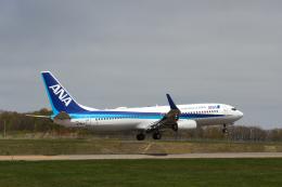 North1973さんが、紋別空港で撮影した全日空 737-881の航空フォト(飛行機 写真・画像)