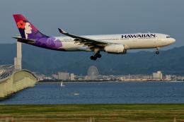 Deepさんが、関西国際空港で撮影したハワイアン航空 A330-243の航空フォト(飛行機 写真・画像)