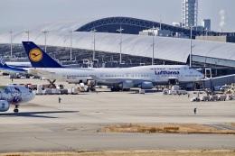 344さんが、関西国際空港で撮影したルフトハンザドイツ航空 747-430の航空フォト(飛行機 写真・画像)