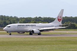 North1973さんが、帯広空港で撮影した日本航空 737-846の航空フォト(飛行機 写真・画像)