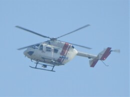 いねねさんが、名古屋飛行場で撮影したセントラルヘリコプターサービス BK117C-1の航空フォト(飛行機 写真・画像)