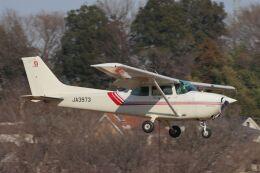 だびでさんが、調布飛行場で撮影した東京航空 172P Skyhawkの航空フォト(飛行機 写真・画像)