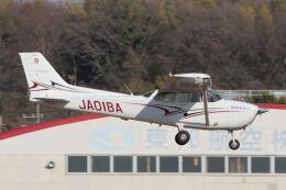 だびでさんが、調布飛行場で撮影したアイベックスアビエイション 172S Skyhawk SPの航空フォト(飛行機 写真・画像)