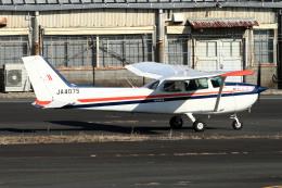 A-Chanさんが、調布飛行場で撮影したスカイフォト 172P Skyhawk IIの航空フォト(飛行機 写真・画像)