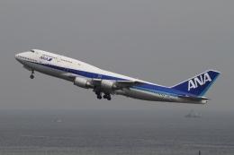 ☆H・I・J☆さんが、羽田空港で撮影した全日空 747-481(D)の航空フォト(飛行機 写真・画像)
