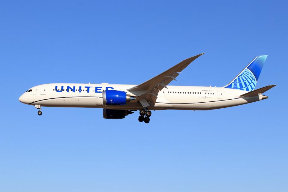 Shin-chaさんのユナイテッド航空 Boeing 787-9 (N24980) 航空フォト