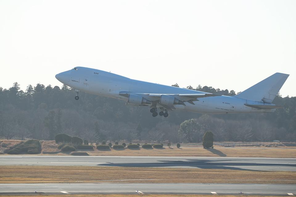 サイパンだ!さんのアトラス航空 Boeing 747-400 (N405KZ) 航空フォト