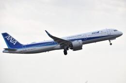 しめぎさんが、仙台空港で撮影した全日空 A321-272Nの航空フォト(飛行機 写真・画像)