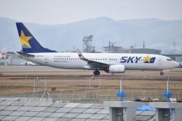 しめぎさんが、仙台空港で撮影したスカイマーク 737-86Nの航空フォト(飛行機 写真・画像)