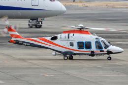 ほてるやんきーさんが、伊丹空港で撮影した日本法人所有 AW169の航空フォト(飛行機 写真・画像)