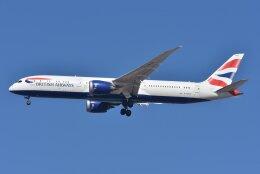 航空フォト:G-ZBKR ブリティッシュ・エアウェイズ 787-9