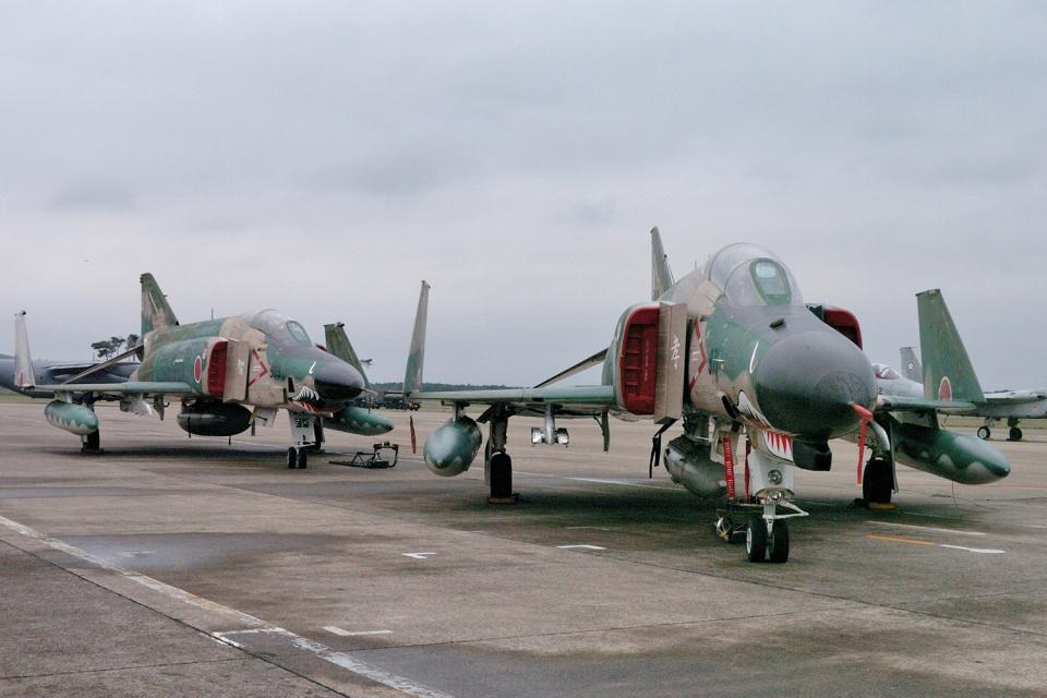 senyoさんの航空自衛隊 Mitsubishi RF-4EJ Phantom II (57-6371) 航空フォト