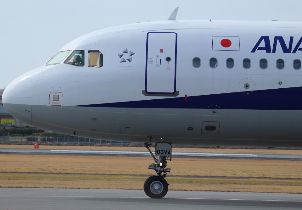 シーマさんの全日空 Airbus A320 (JA03VA) 航空フォト