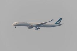 Koenig117さんが、関西国際空港で撮影したキャセイパシフィック航空 A350-1041の航空フォト(飛行機 写真・画像)