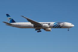 Deepさんが、成田国際空港で撮影したエジプト航空 777-36N/ERの航空フォト(飛行機 写真・画像)