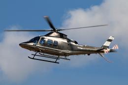 なごやんさんが、名古屋飛行場で撮影した警視庁 A109S Trekkerの航空フォト(飛行機 写真・画像)