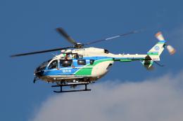 なごやんさんが、名古屋飛行場で撮影した福井県防災航空隊 BK117C-2の航空フォト(飛行機 写真・画像)