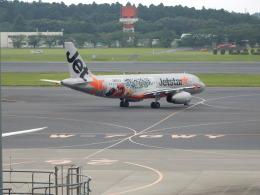 kiyo hさんが、成田国際空港で撮影したジェットスター・ジャパン A320-232の航空フォト(飛行機 写真・画像)