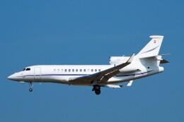 ちっとろむさんが、フランクフルト国際空港で撮影したジェット・アビエーション・ビジネス・ジェット Falcon 7Xの航空フォト(飛行機 写真・画像)
