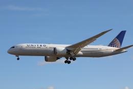 OS52さんが、成田国際空港で撮影したユナイテッド航空 787-9の航空フォト(飛行機 写真・画像)