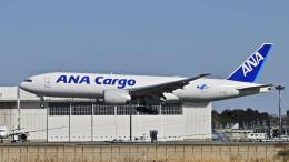パンダさんが、成田国際空港で撮影した全日空 777-F81の航空フォト(飛行機 写真・画像)