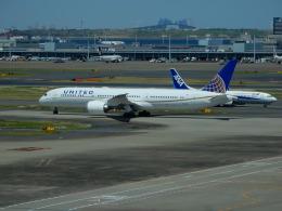 kiyo hさんが、羽田空港で撮影したユナイテッド航空 787-9の航空フォト(飛行機 写真・画像)