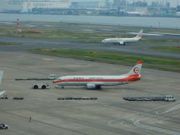 kiyo hさんが、羽田空港で撮影した日本トランスオーシャン航空 737-446の航空フォト(飛行機 写真・画像)