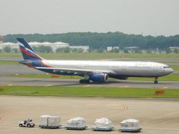 kiyo hさんが、成田国際空港で撮影したアエロフロート・ロシア航空 A330-343Xの航空フォト(飛行機 写真・画像)