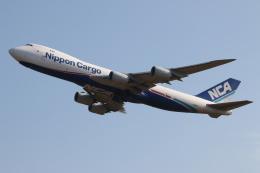 NIKEさんが、成田国際空港で撮影した日本貨物航空 747-8KZF/SCDの航空フォト(飛行機 写真・画像)