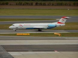 kiyo hさんが、ウィーン国際空港で撮影したオーストリア航空 100の航空フォト(飛行機 写真・画像)