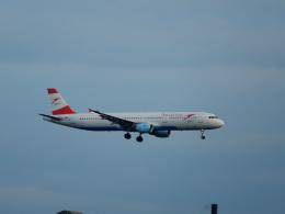 kiyo hさんが、フランクフルト国際空港で撮影したオーストリア航空 A321-211の航空フォト(飛行機 写真・画像)
