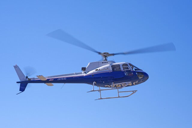 apphgさんが、静岡ヘリポートで撮影した東邦航空 AS350B Ecureuilの航空フォト(飛行機 写真・画像)