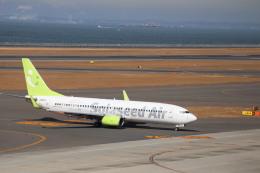 さかいさんが、中部国際空港で撮影したソラシド エア 737-86Nの航空フォト(飛行機 写真・画像)