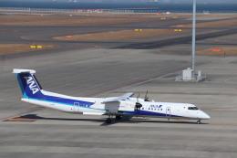 さかいさんが、中部国際空港で撮影したANAウイングス DHC-8-402Q Dash 8の航空フォト(飛行機 写真・画像)