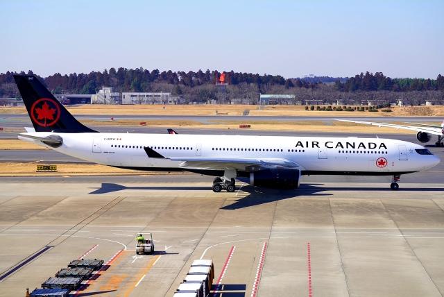 SFJ_capさんが、成田国際空港で撮影したエア・カナダ A330-343Xの航空フォト(飛行機 写真・画像)
