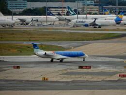 kiyo hさんが、フランクフルト国際空港で撮影したBMIリージョナル ERJ-145EPの航空フォト(飛行機 写真・画像)