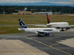 kiyo hさんが、フランクフルト国際空港で撮影したタロム航空 A318-111の航空フォト(飛行機 写真・画像)