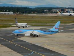 kiyo hさんが、フランクフルト国際空港で撮影したトゥイフライ 737-8BKの航空フォト(飛行機 写真・画像)