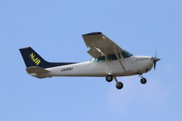 EosR2さんが、鹿児島空港で撮影した新日本航空 172P Skyhawkの航空フォト(飛行機 写真・画像)