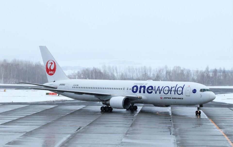 にしやんさんの日本航空 Boeing 767-300 (JA8980) 航空フォト