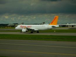 kiyo hさんが、アムステルダム・スキポール国際空港で撮影したペガサス・エアラインズ A320-214の航空フォト(飛行機 写真・画像)