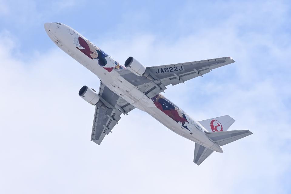 YouKeyさんの日本航空 Boeing 767-300 (JA622J) 航空フォト