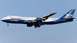 Shotaroさんが、上海浦東国際空港で撮影したシルクウェイ・ウェスト・エアラインズ 747-83QFの航空フォト(飛行機 写真・画像)