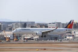 クロマティさんが、福岡空港で撮影したフィリピン航空 A321-271Nの航空フォト(飛行機 写真・画像)