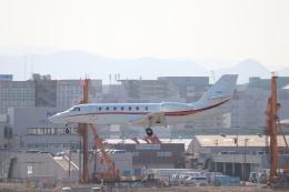 クロマティさんが、福岡空港で撮影した日本エアロスペース 680 Citation Sovereignの航空フォト(飛行機 写真・画像)