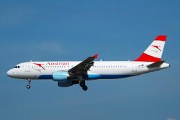 ちっとろむさんが、フランクフルト国際空港で撮影したオーストリア航空 A320-214の航空フォト(飛行機 写真・画像)